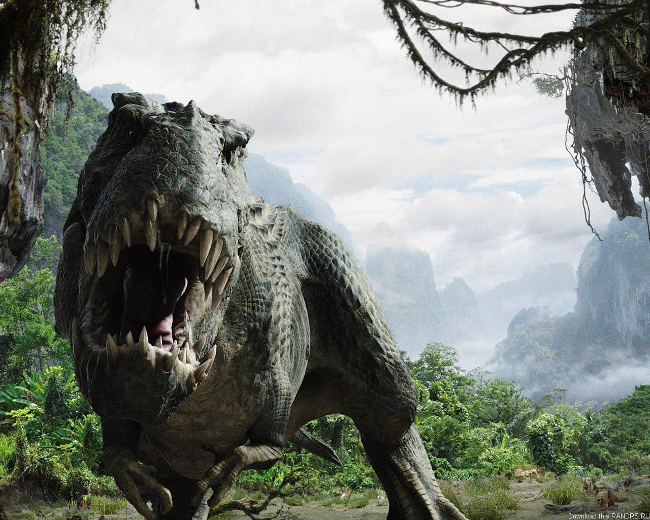 Тиранозавр обои