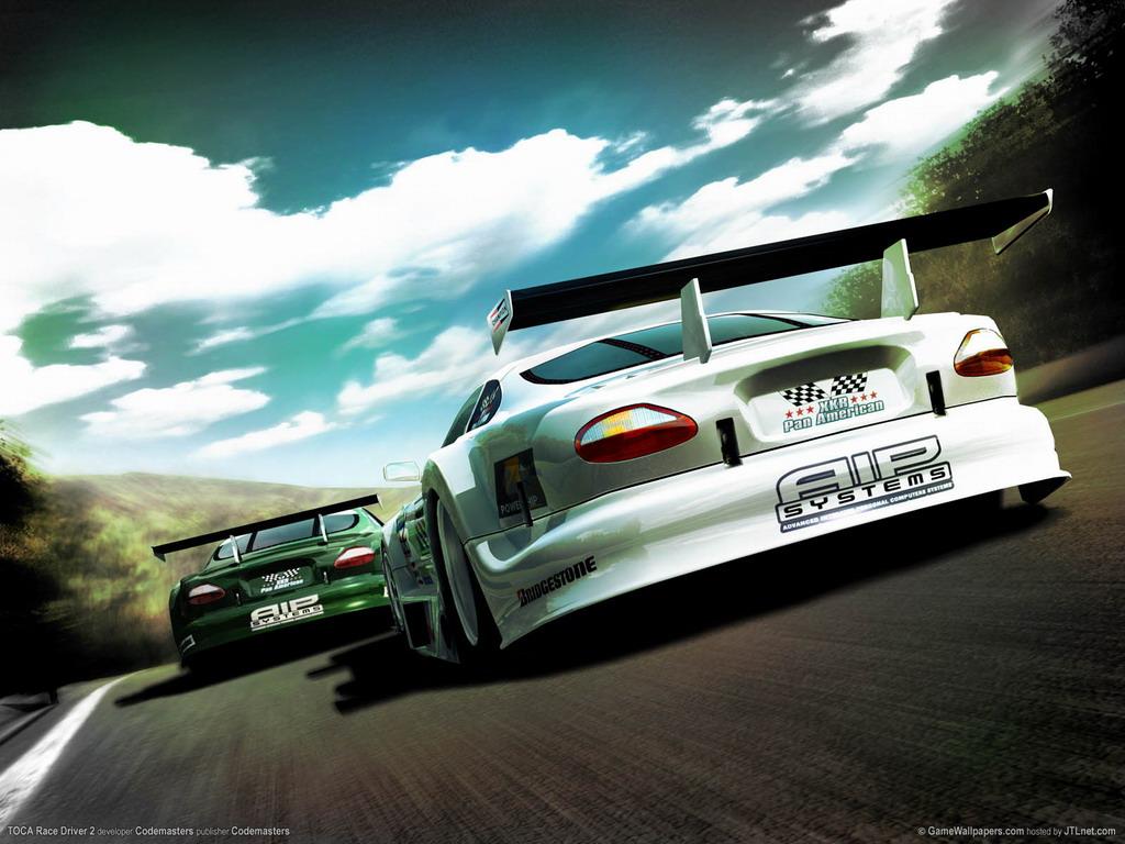 Скачать обои Race Driver