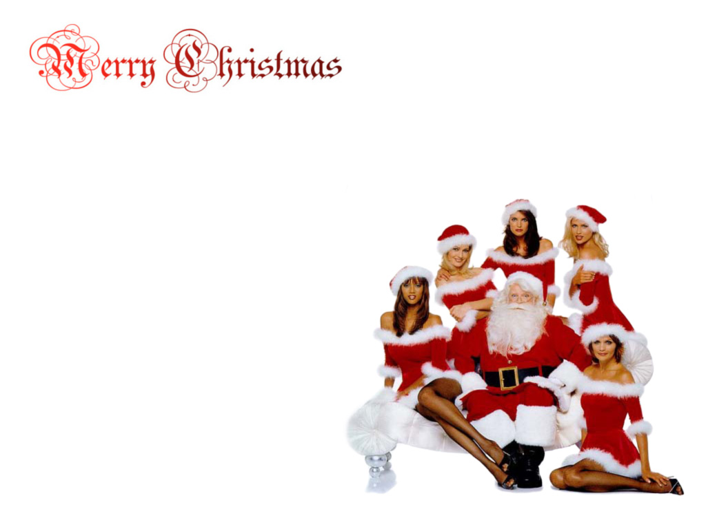Санта Клаус обои для рабочего стола
