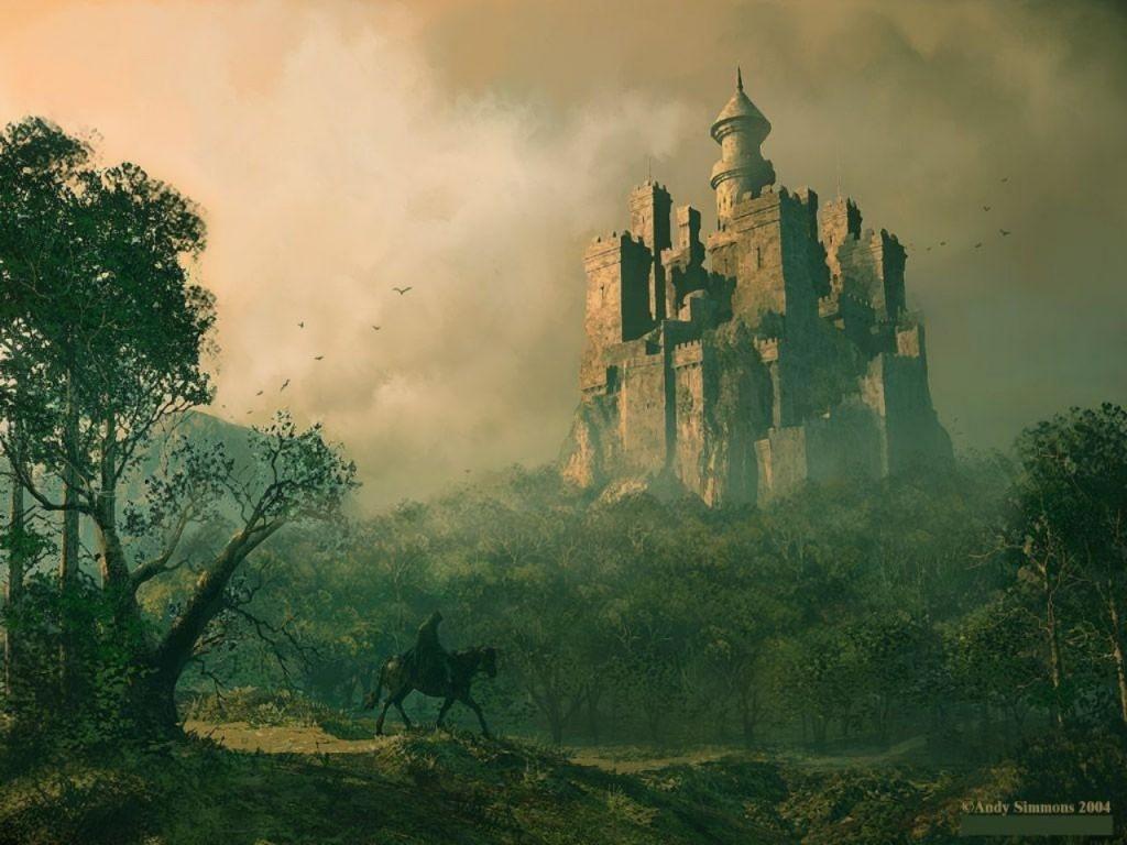 Замок обои