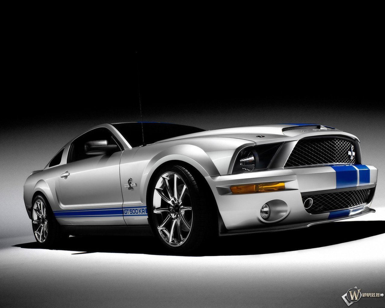FORD MUSTANG CONVERTIBLE SHELBY GT500 обои