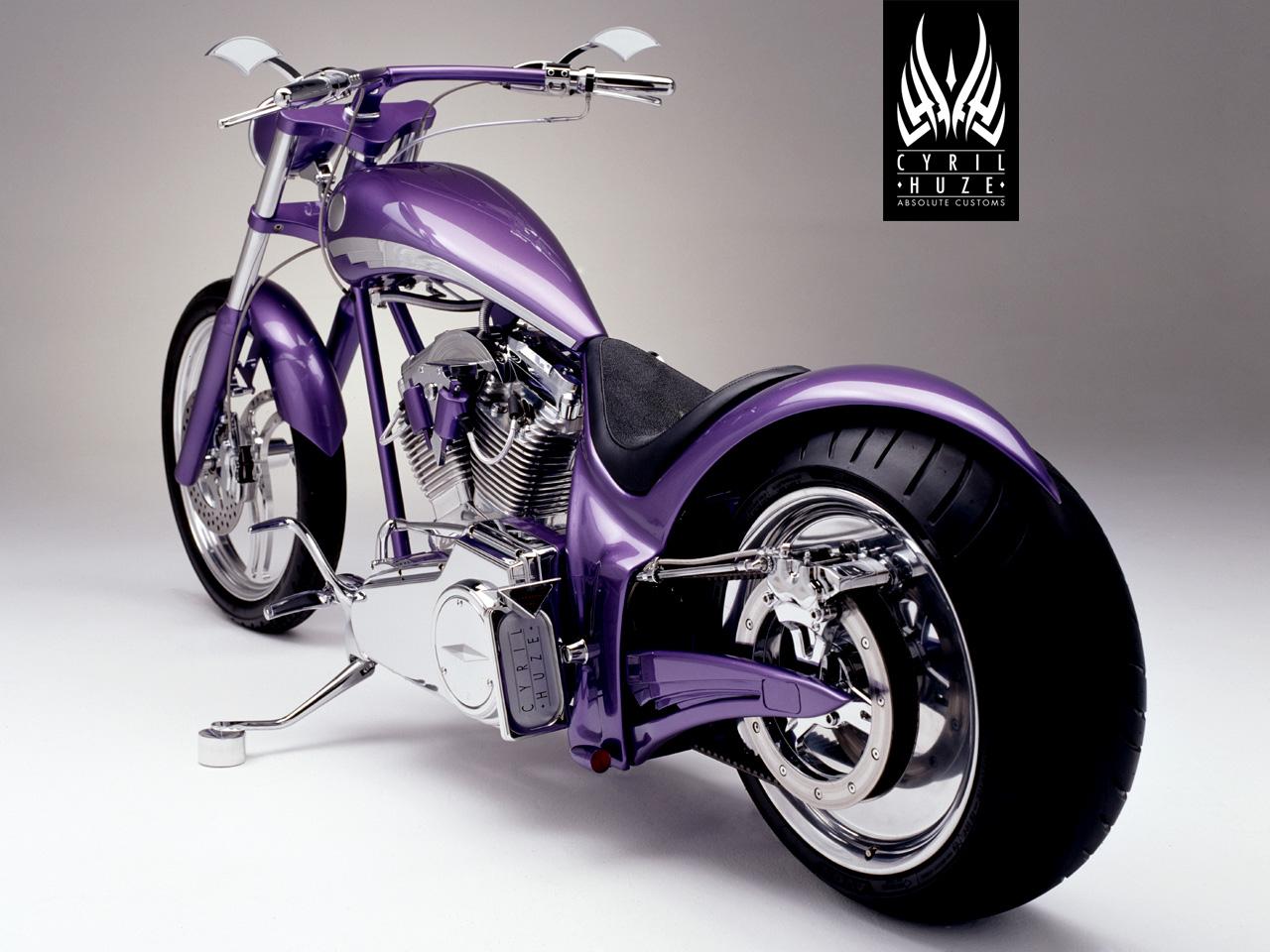 харлей фиолетовым цветом обои
