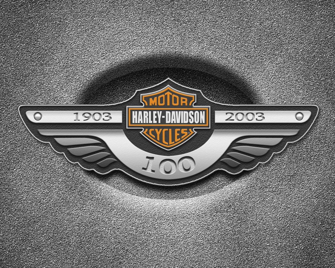 Логотип HARLEY DAVIDSON обои