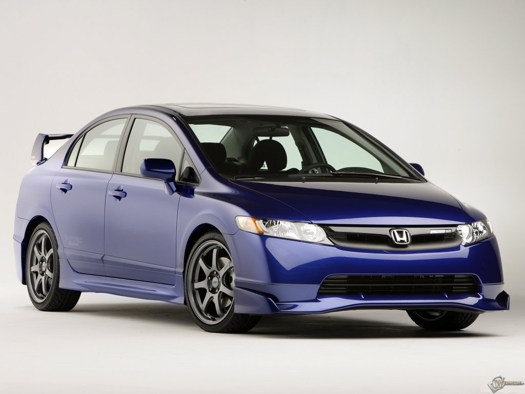 Honda Civic Si Sedan обои