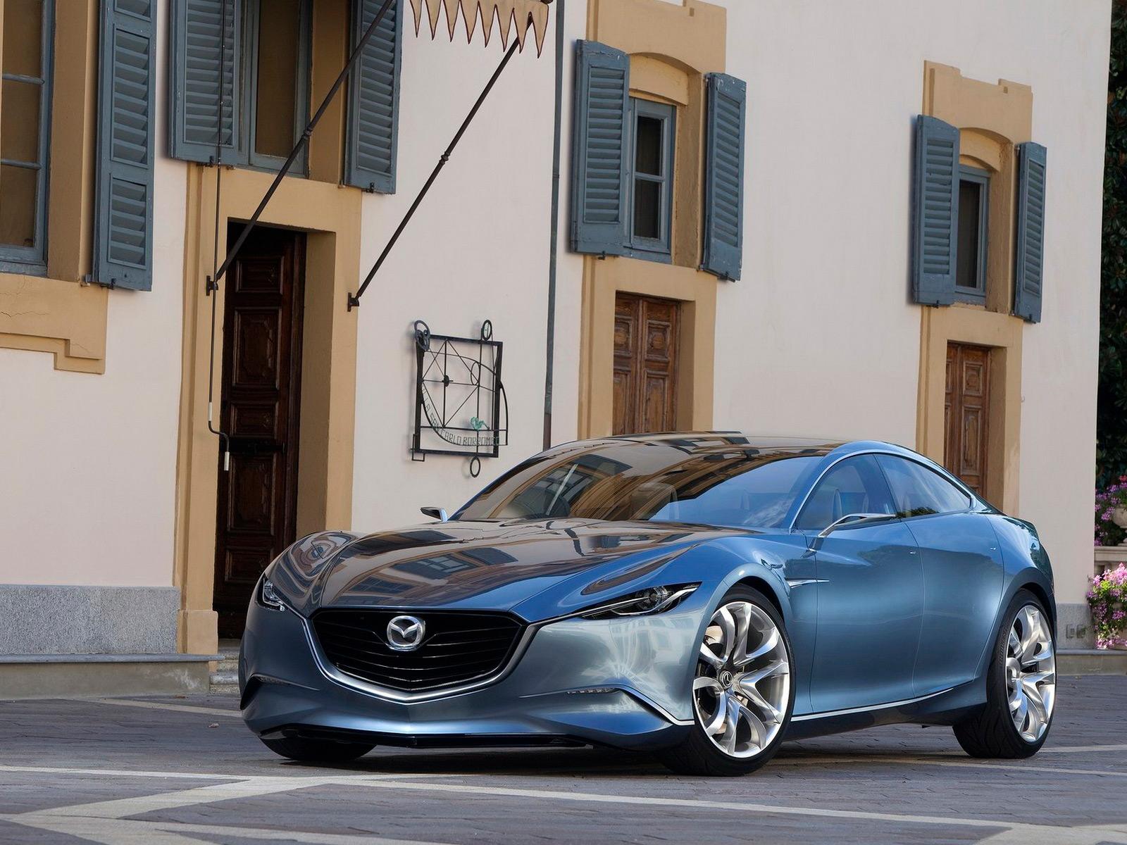 Обои для рабочего стола Mazda