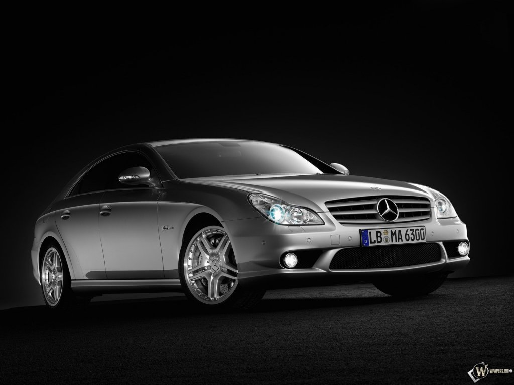 Mercedes CLS class 63 AMG обои