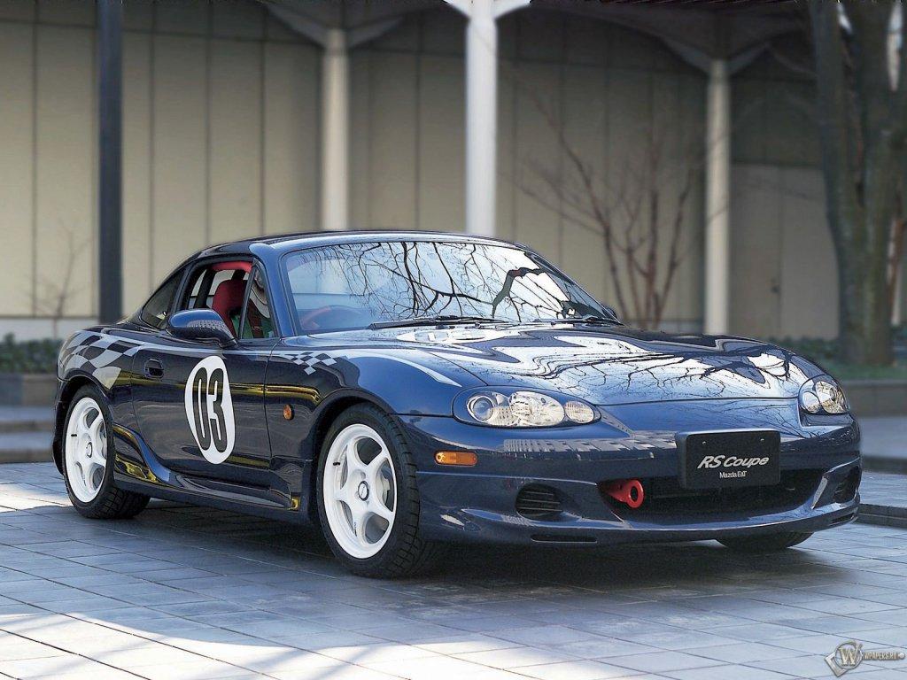 Скачать обои Mazda MX-5