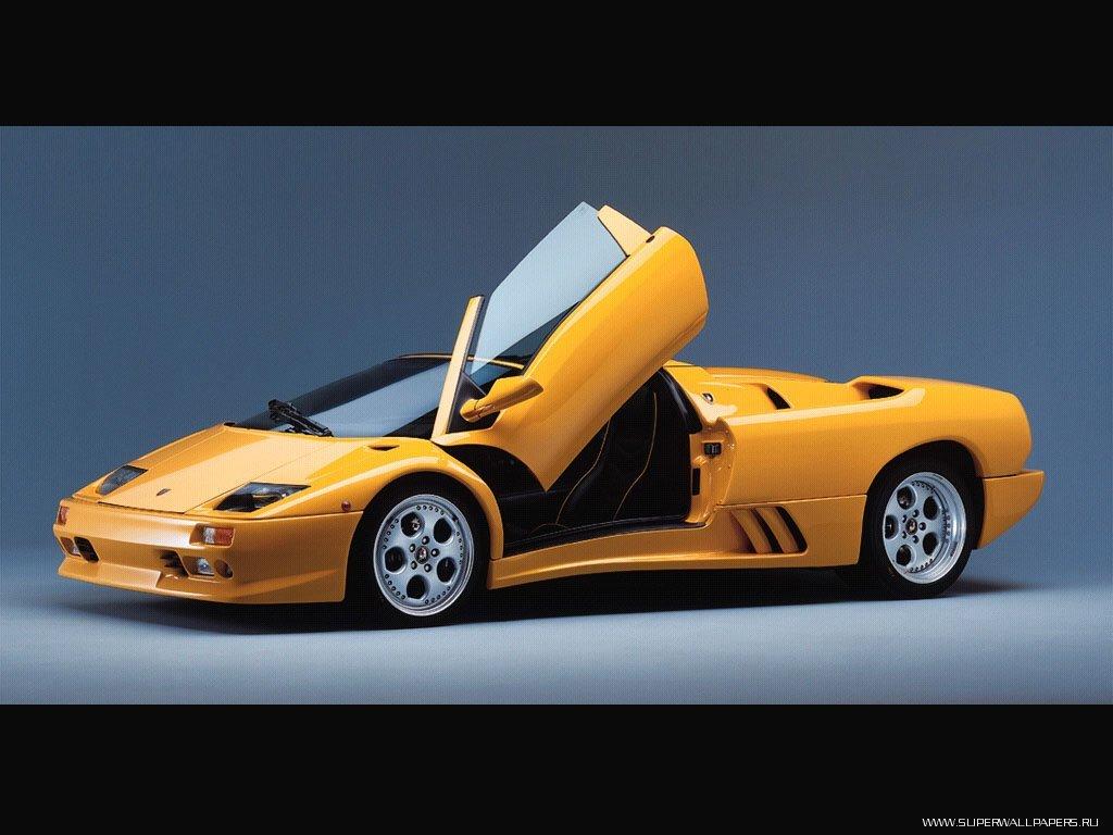 Скачать обои Lamborghini Diablo