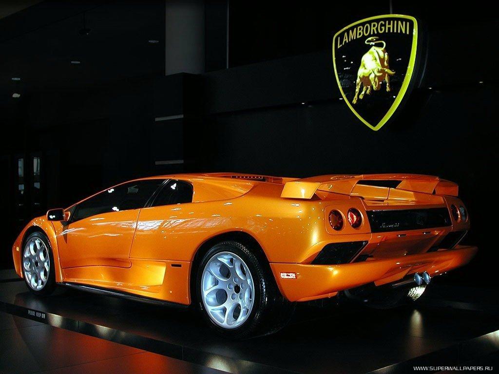 Lamborghini Diablo обои для рабочего стола
