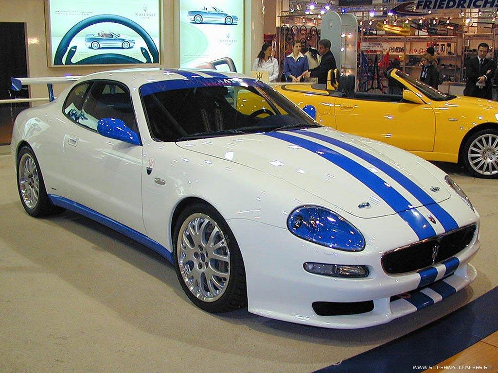 Скачать обои Maserati Spyder