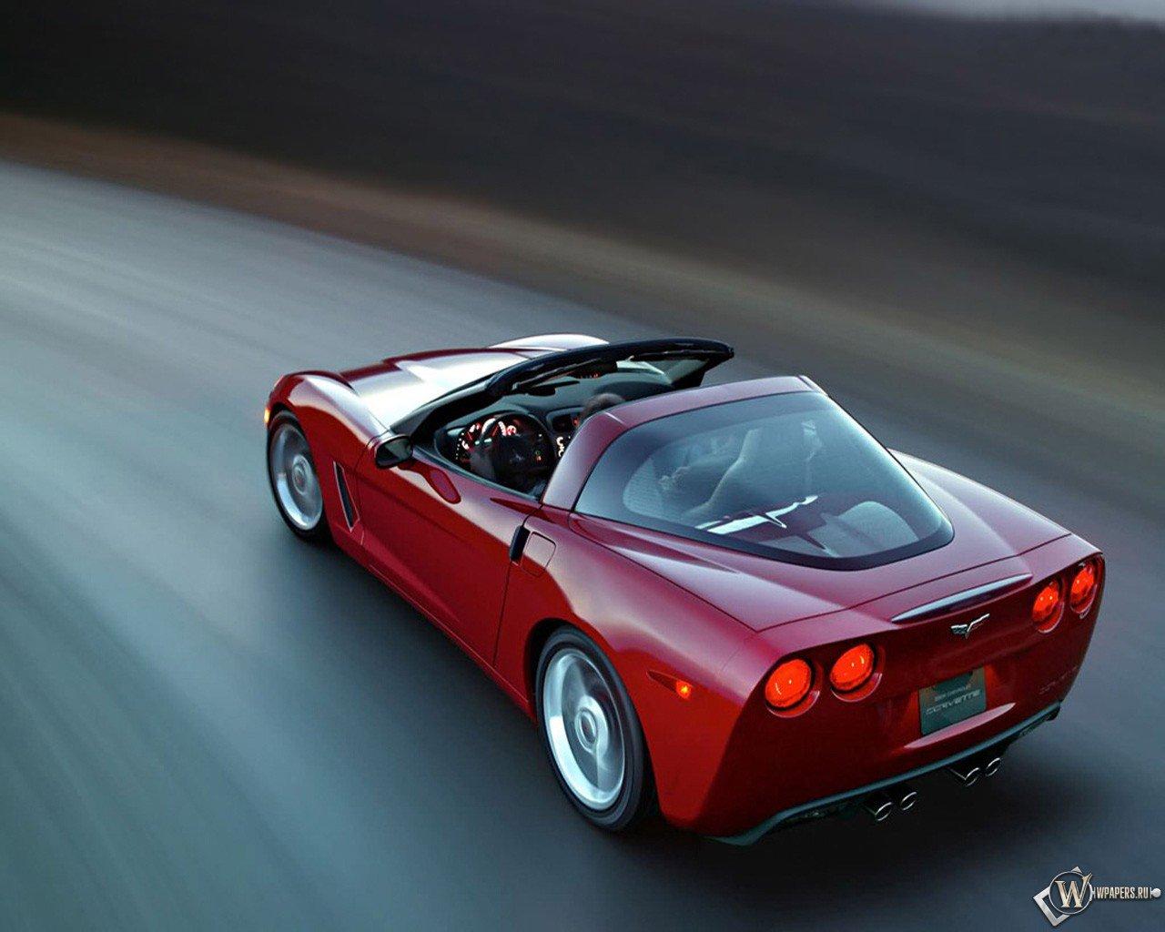 Картинки на рабочий стол Corvette