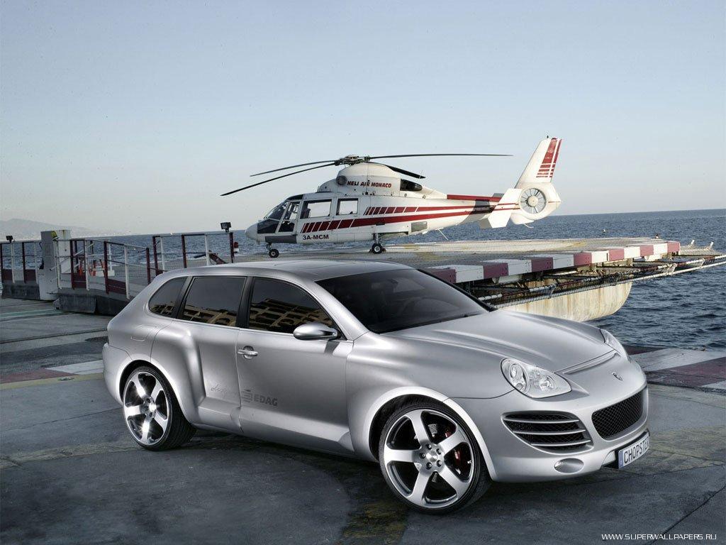 Обои на рабочий стол Porsche Cayenne