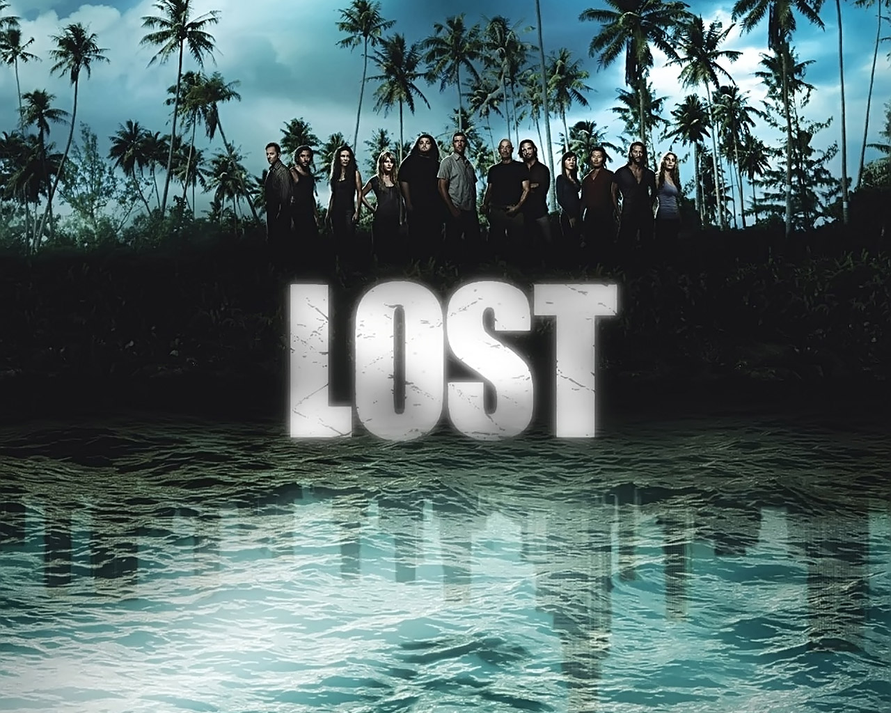 Lost Season 4 Wallpaper обои