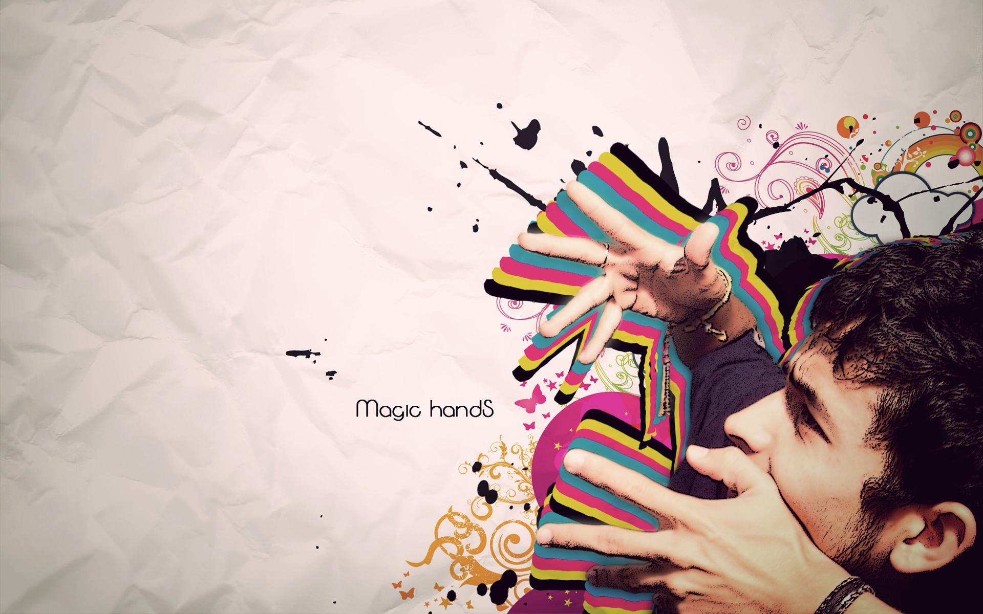 Волшебные руки - красивые обои