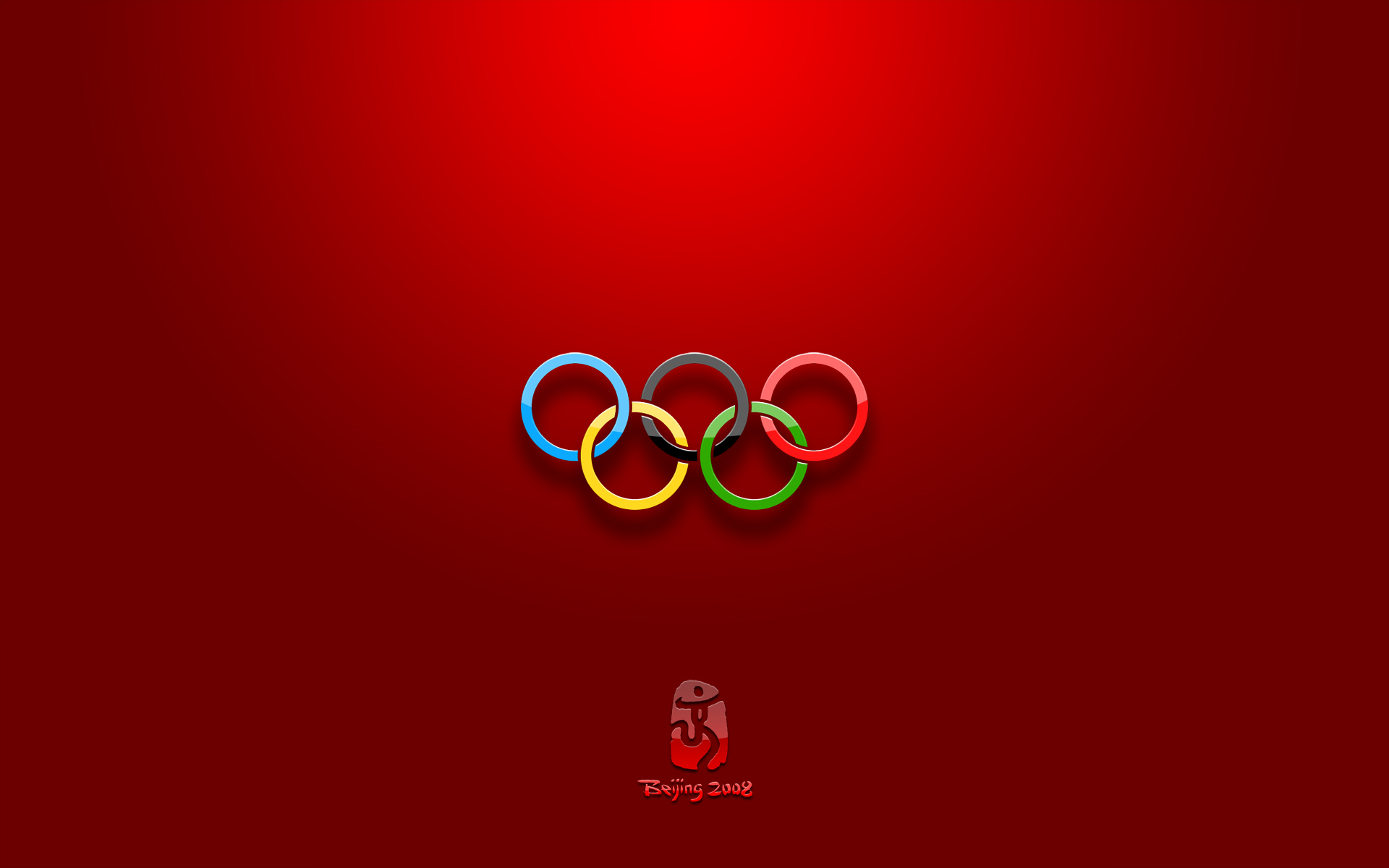 Олимпийские кольца - обои