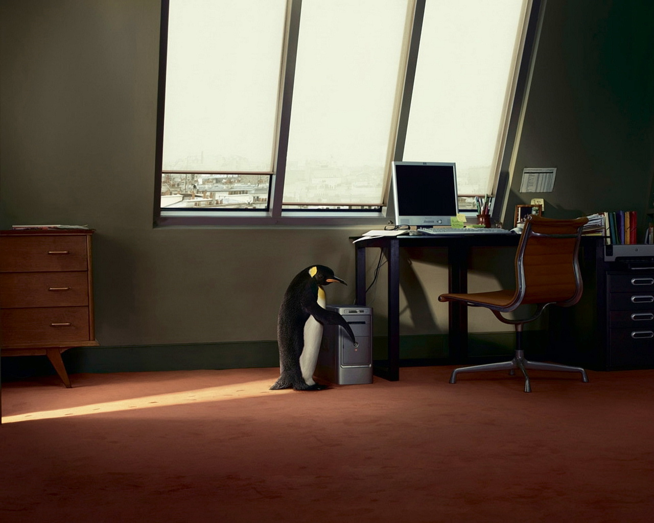 Linux придёт к вам! - обои