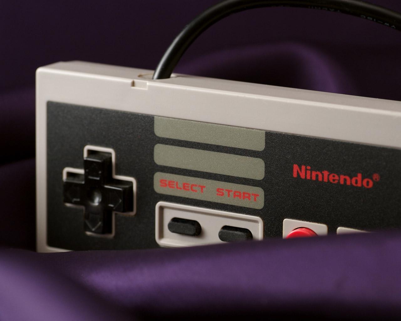 Пульт от Nintendo - обои