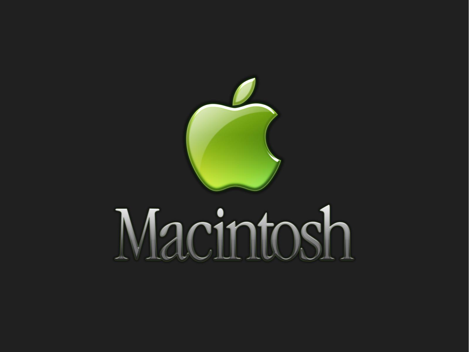 Macintosh - широкоформатные обои