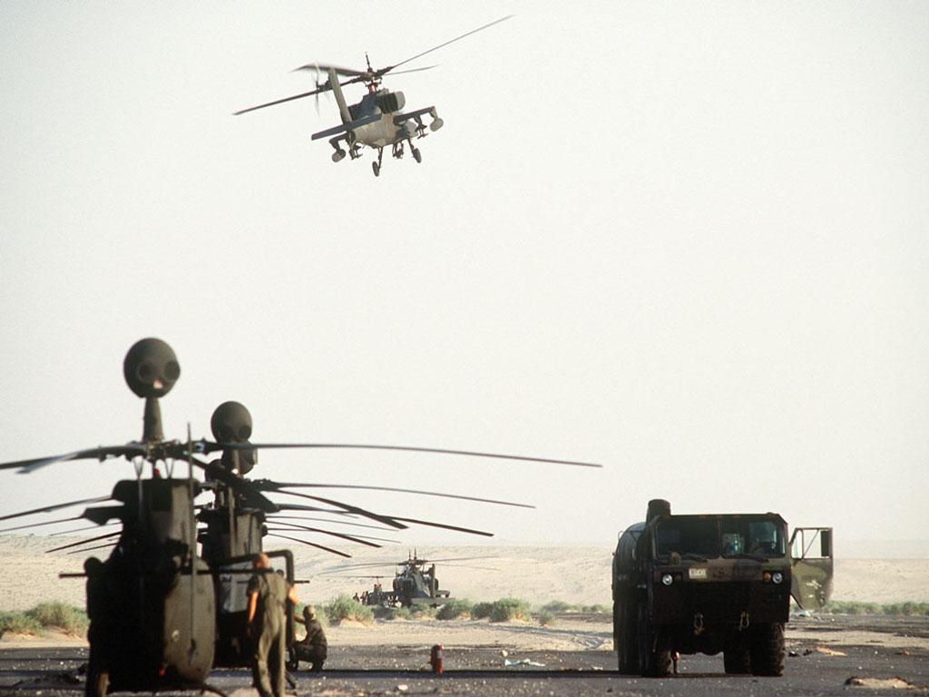 AH-64 Apache обои