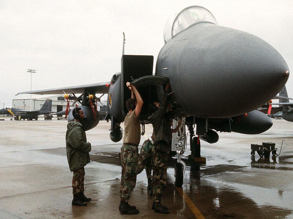 F-15 обои