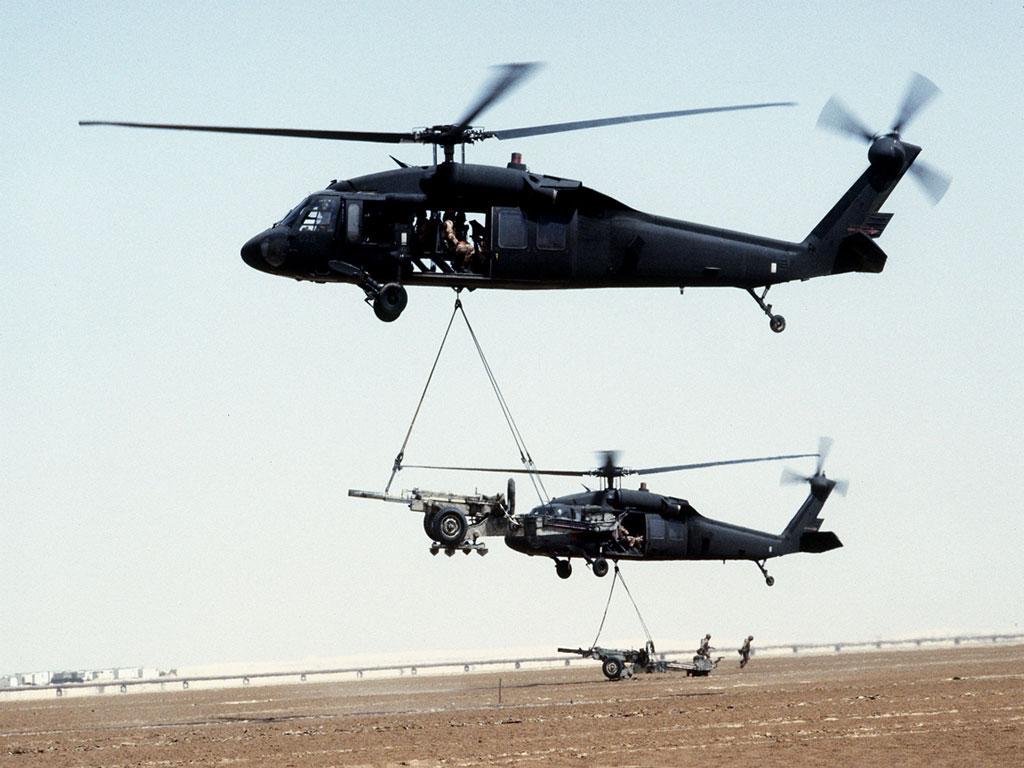 UH-60 Черный ястреб обои