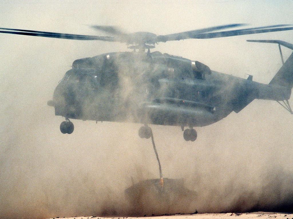 CH-53А Stelion обои