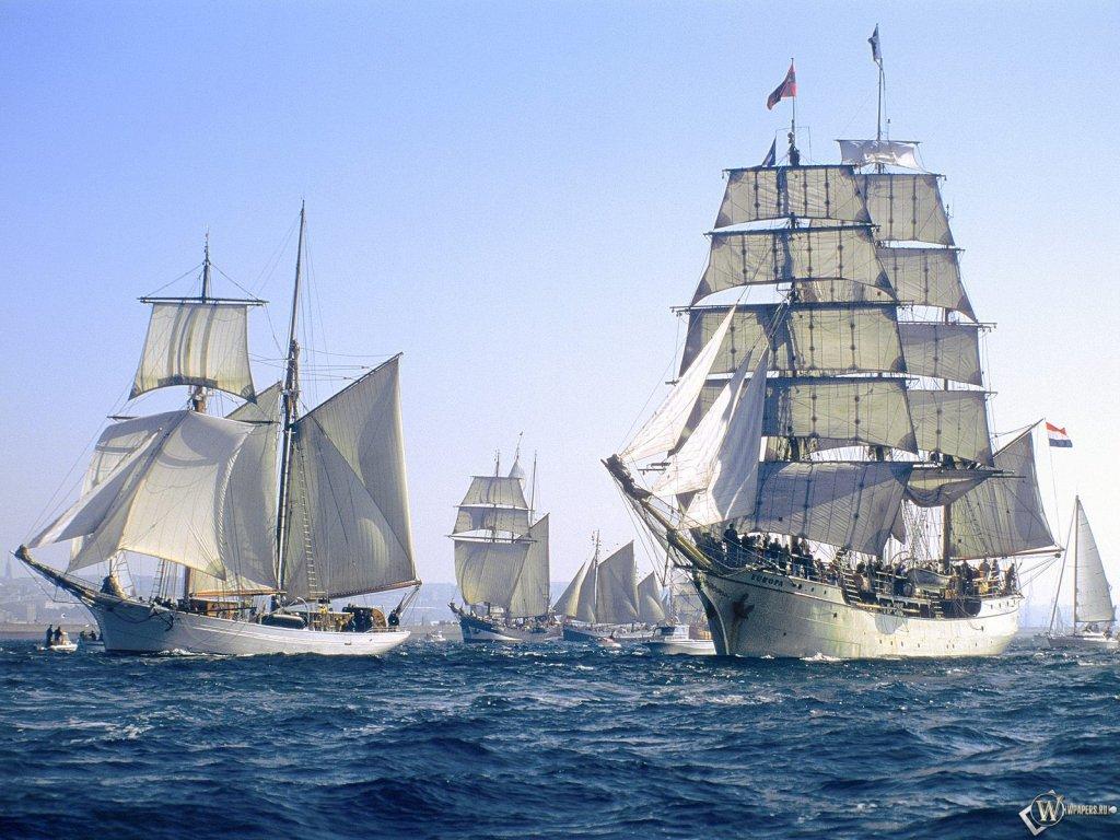 Корабли красивые обои