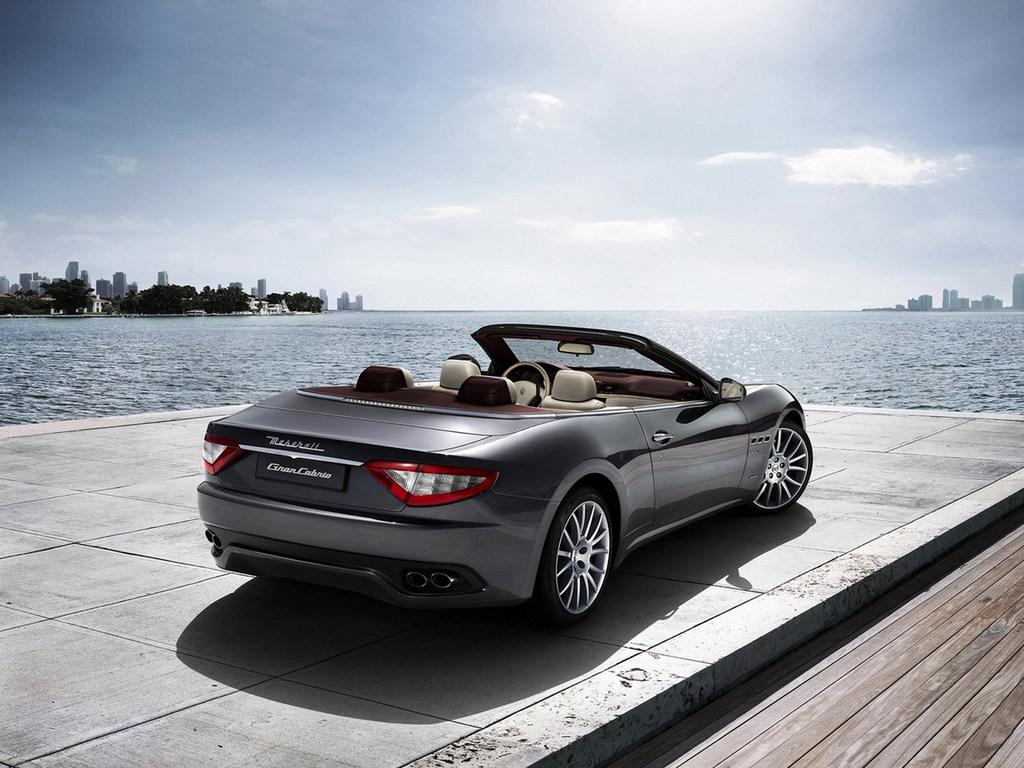 Maserati GranCabrio обои