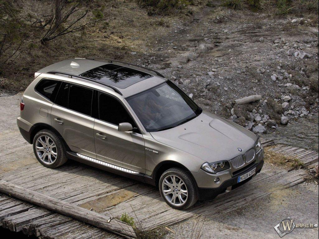 Бесплатно BMW X3 обои