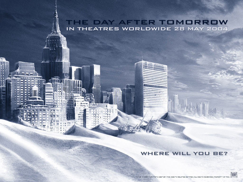 Послезавтра (the Day after tomorrow) обои