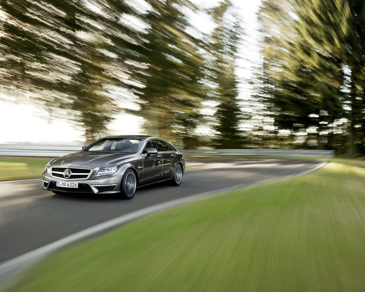 Mercedes-Benz, CLS 63 AMG, 2011 обои