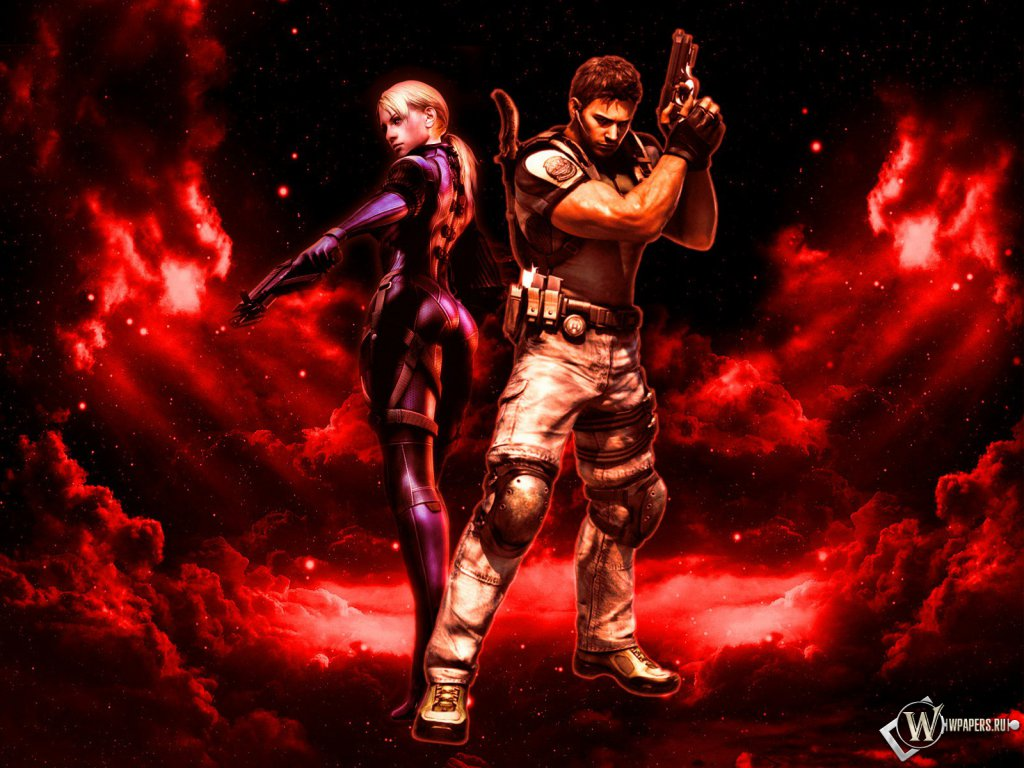 Resident Evil 5 Space обои