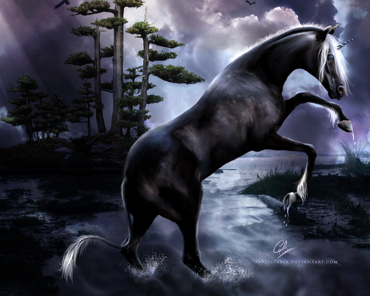 лошади обои на рабочий стол 1280х1024 № 489521 загрузить