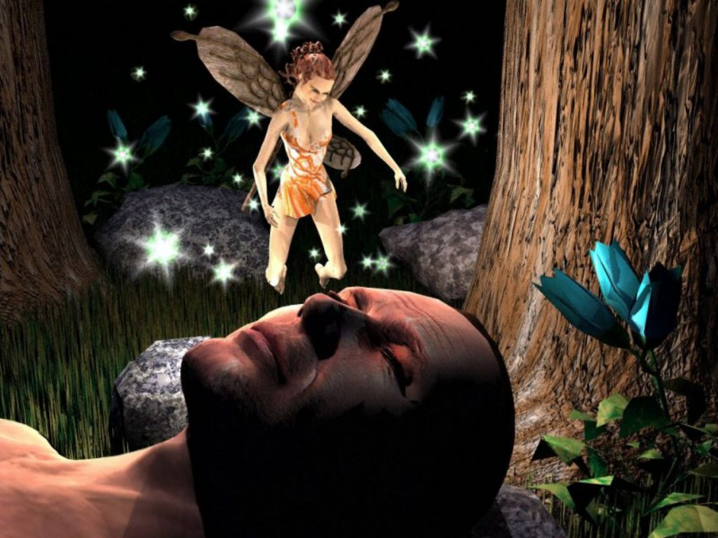 Dreams Of A Fairy 3d клевые обои