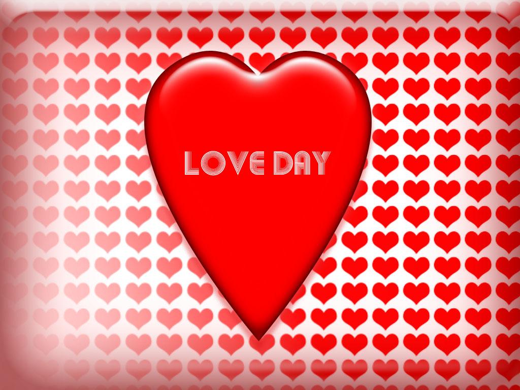 День любви обои