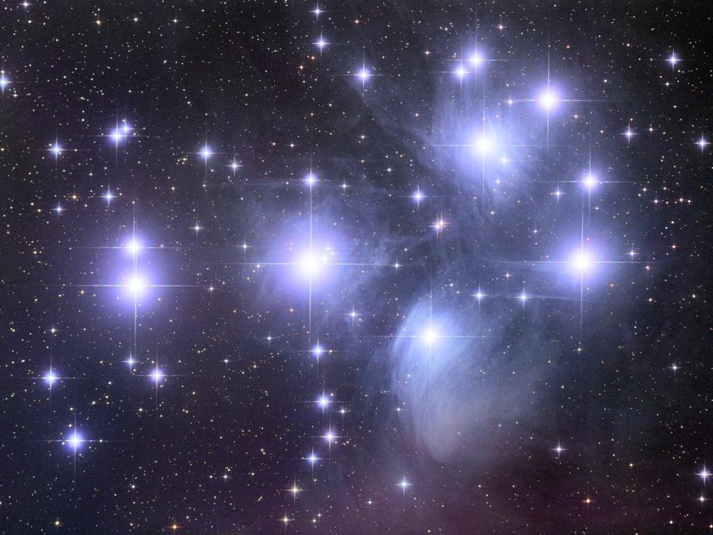 Звездное сияние обои