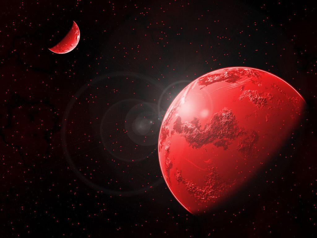 Красные планеты обои