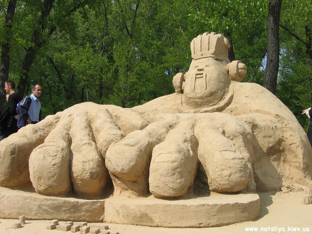ДиДжей из песка обои