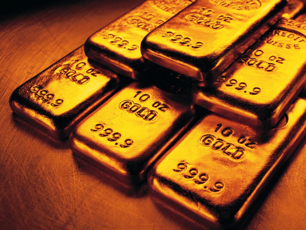 Золотые слитки новейшие обои