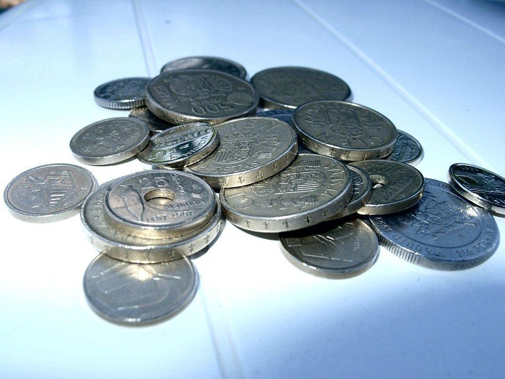 Испанские монеты обои