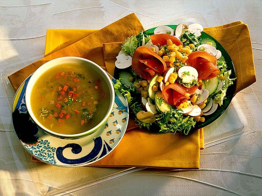 Куриный суп обои