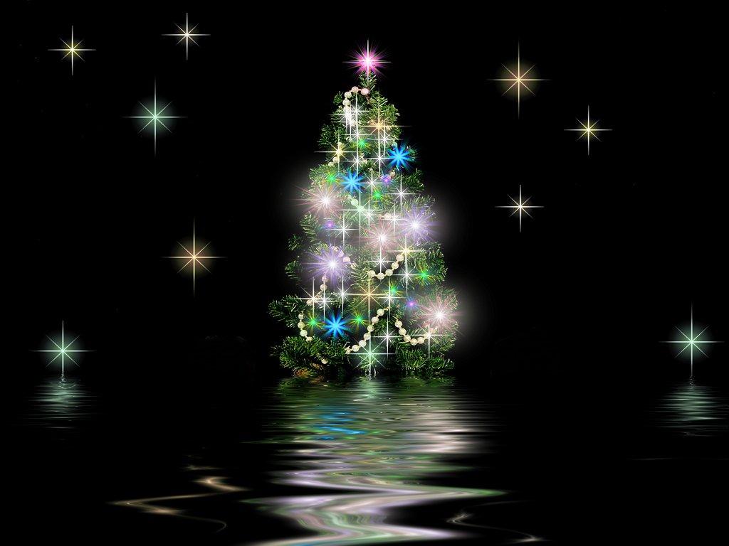 Рождественские звезды обои