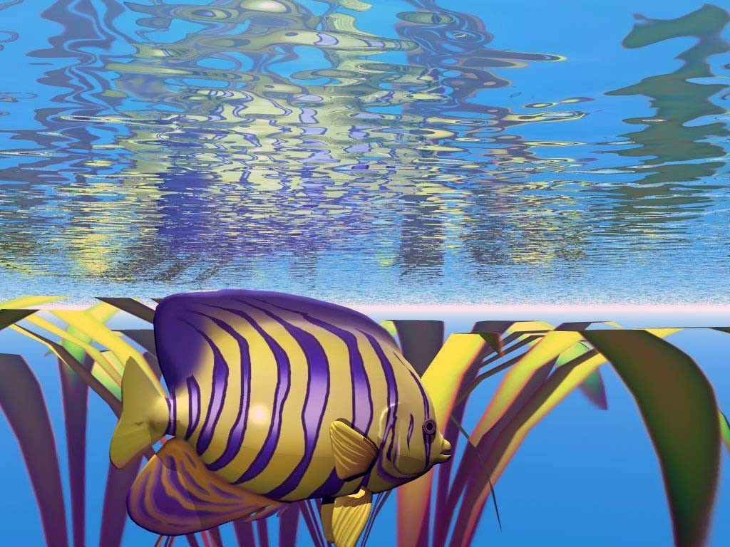 Рыбки картинки для детей цветные - 4