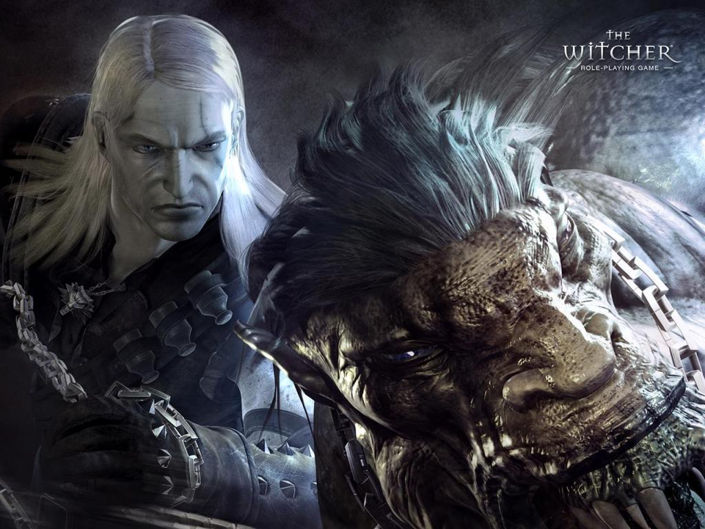 The Witcher широкоформатные обои