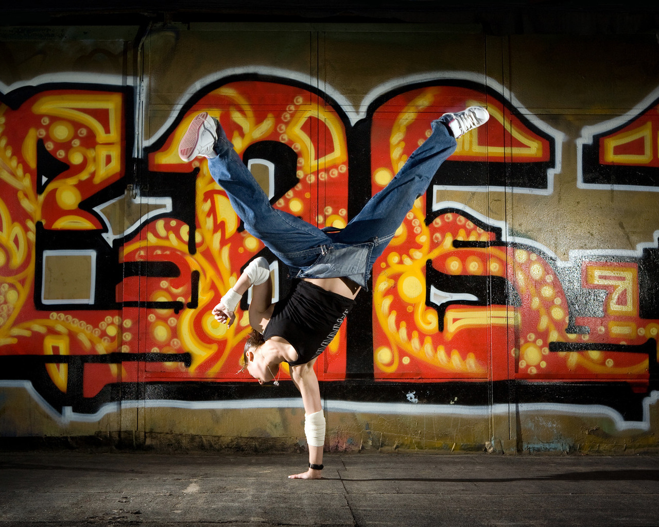 Уличные танцы обои