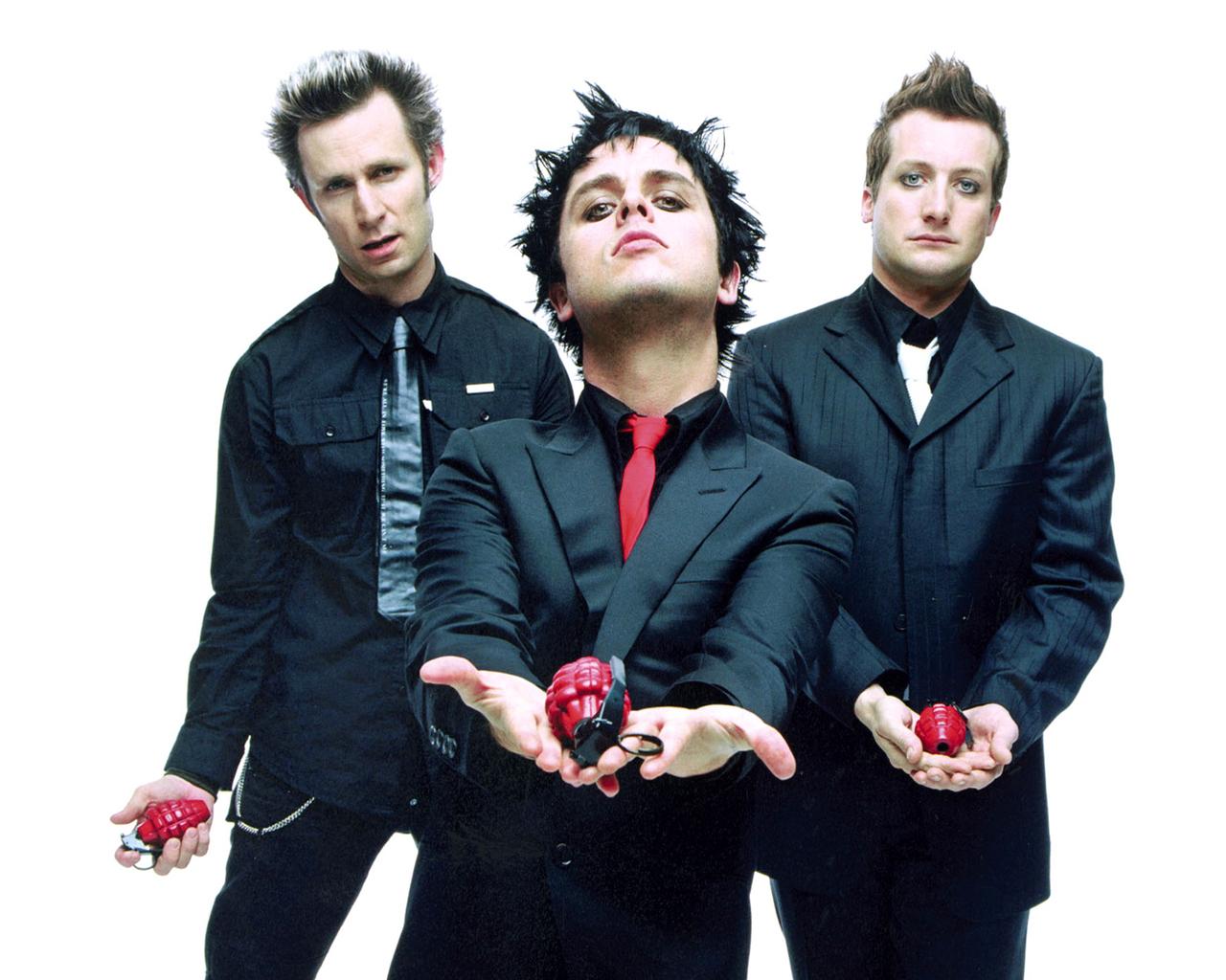 Green Day обои