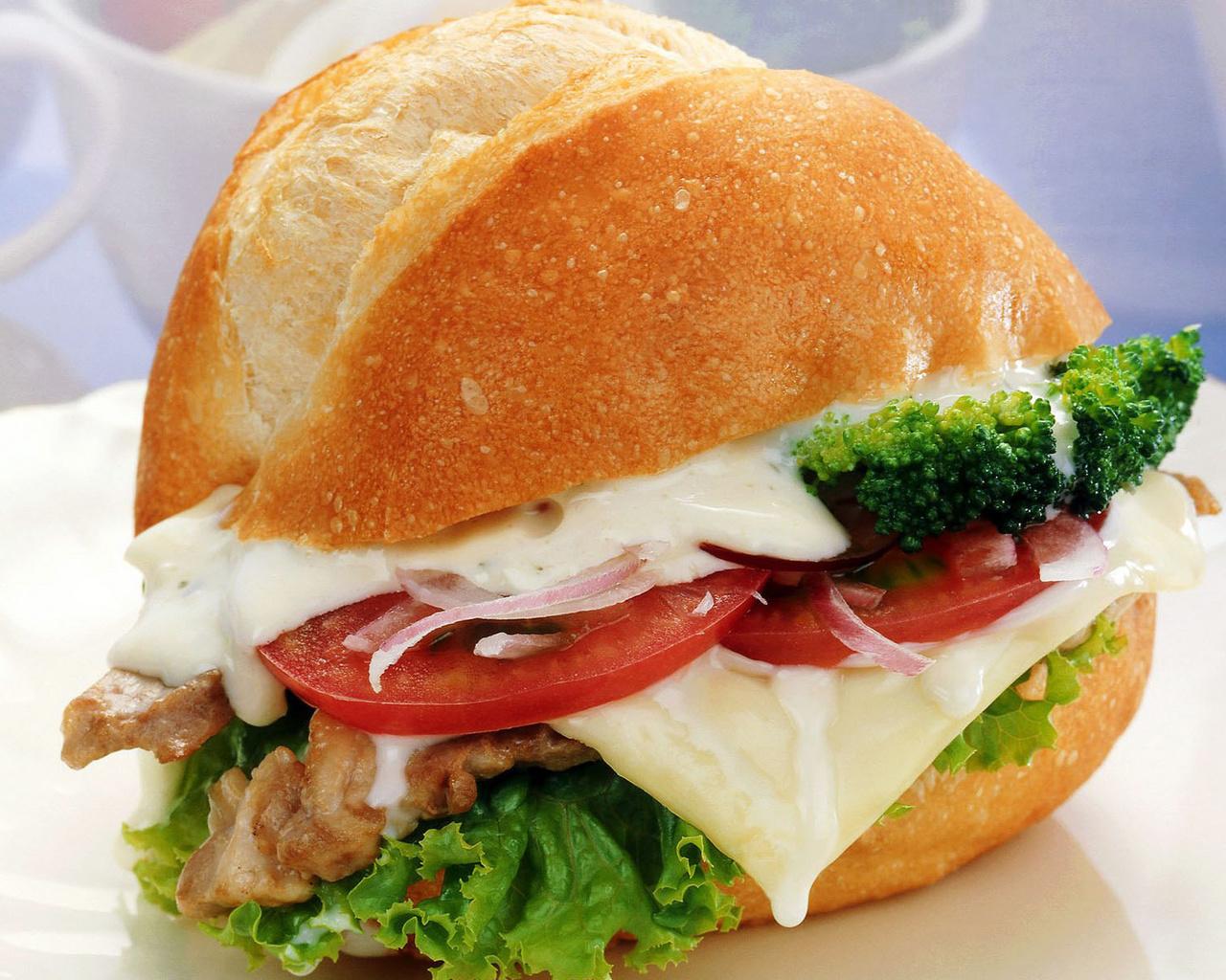 Бутерброд красивые обои