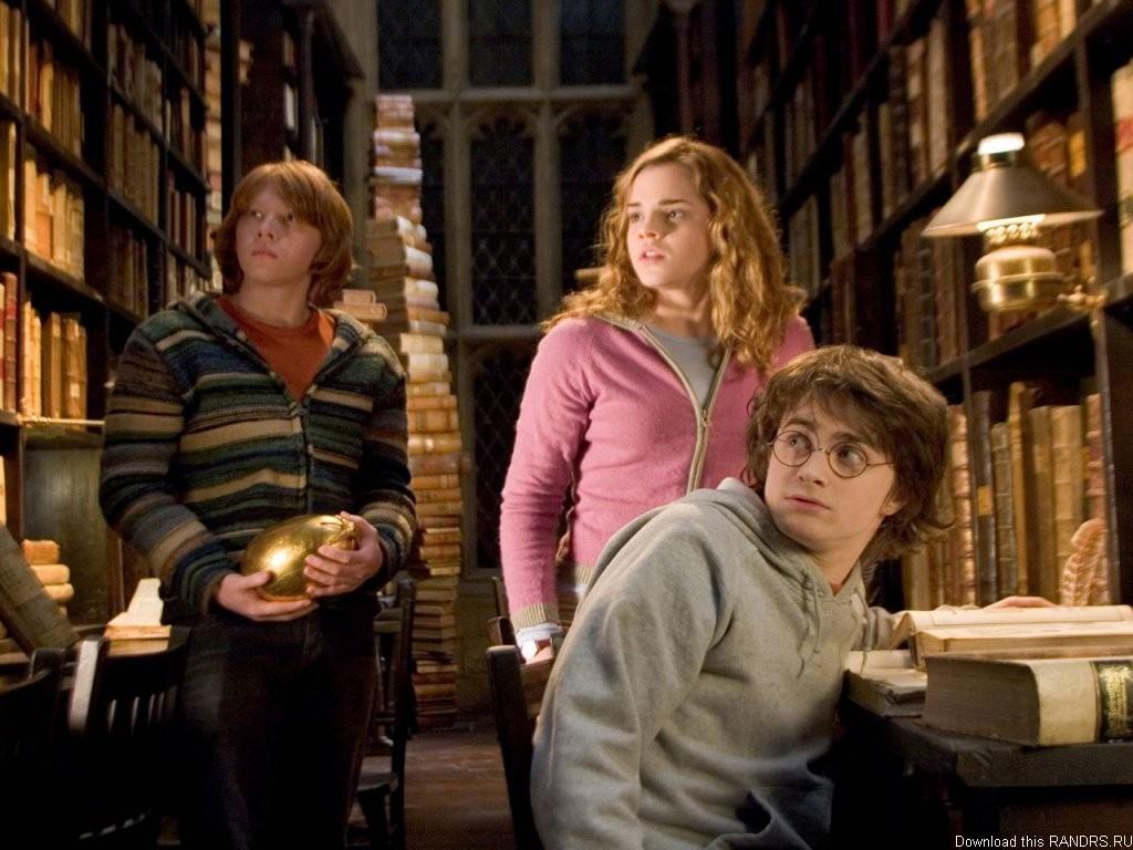 Роулинг признала, что Гарри Поттер и Гермиона должны были быть вместе