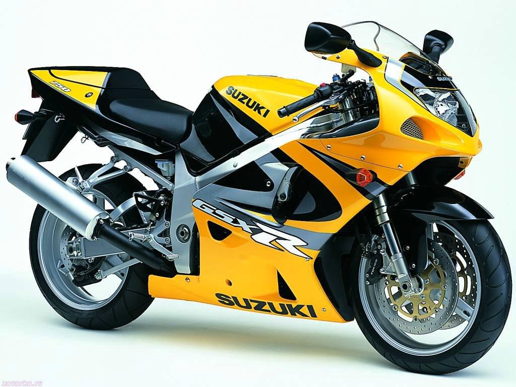 желтый сузуки мотоцикл #6
