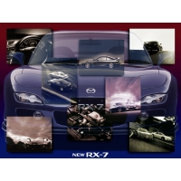 Mazda RX7 обои (2 шт.)